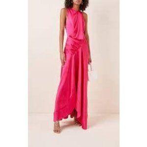 ACLER Palmera Drape Fuchia Pink Dress NEW 8